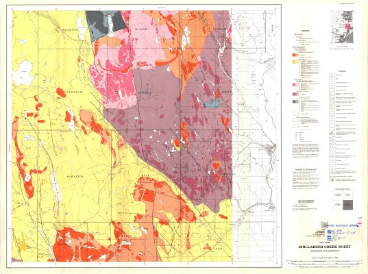Shillabeer Creek Sheet : Thunder Bay District