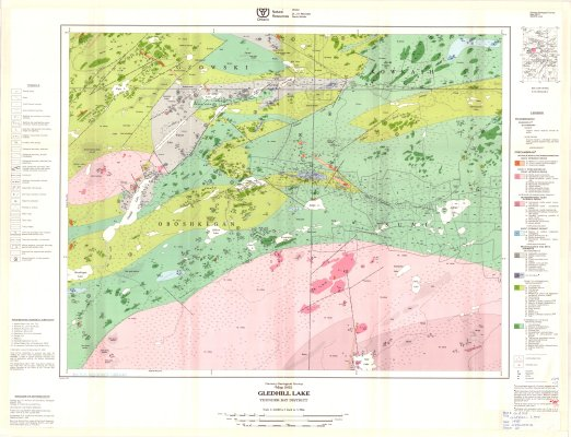 Gledhill Lake : Thunder Bay District