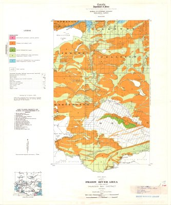Pigeon River Area (Sheet 1)