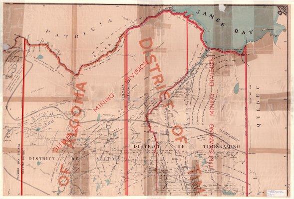 Sudbury Mining Division : Timiskaming Mining Division