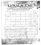 Plan of Upsala Twp.