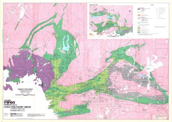 Hemlo Gold Belt (including Terrace Bay Area) Northwestern Ontario