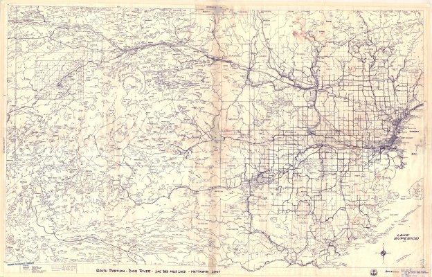 South Portion - Dog River - Lac Des Mille Lacs - Mattawin Limit