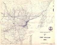 Map of Fort William Area