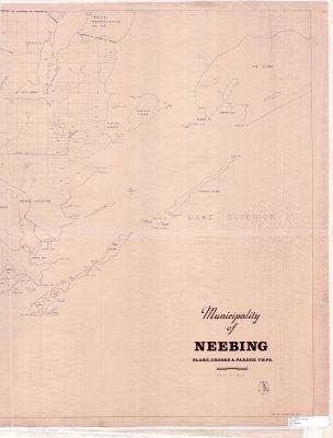 Municipality of Neebing : Blake, Crooks & Pardee Twps. (right half of map)
