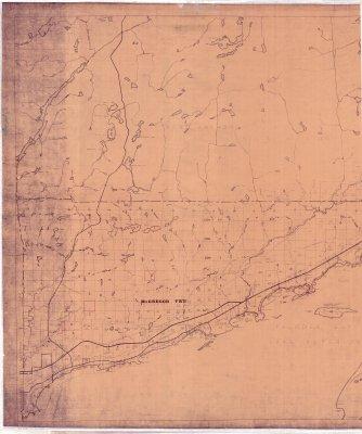 Municipality of Shuniah (McGregor & McTavish Twps.) - Left half of map