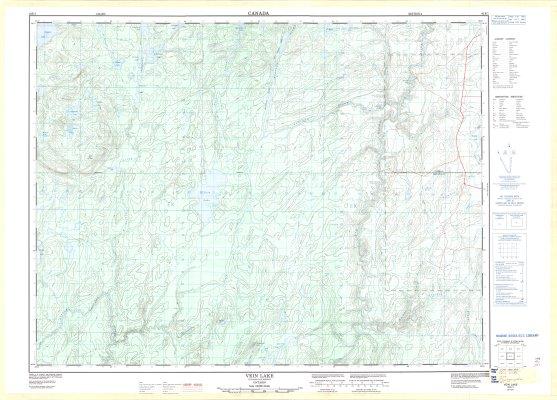 Vein Lake : Thunder Bay District