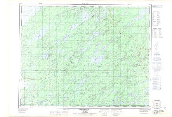 Treptow Lake : Thunder Bay District