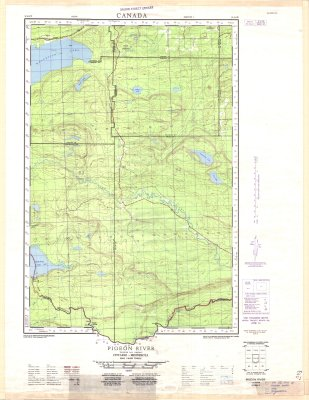 Pigeon River : Thunder Bay District