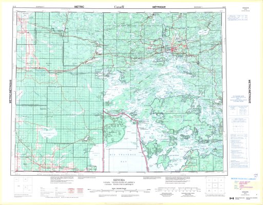 Map Of Kenora Canada.Kenora Canada United States Of America The Gateway To