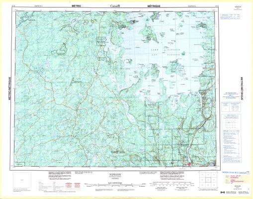 Nipigon : Thunder Bay District