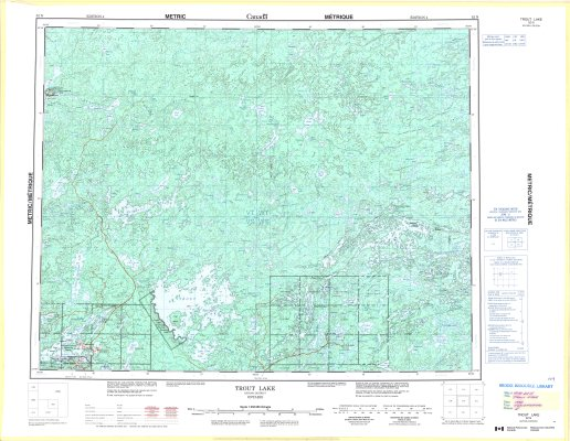 Trout Lake : Kenora District