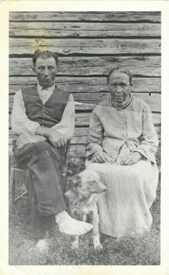 Portrait, Couple with dog