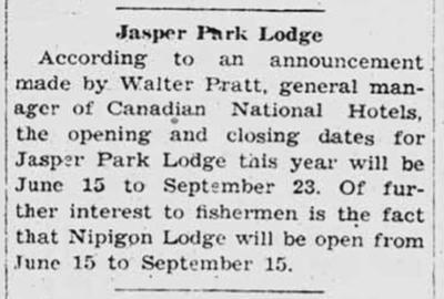 Jasper Park Lodge