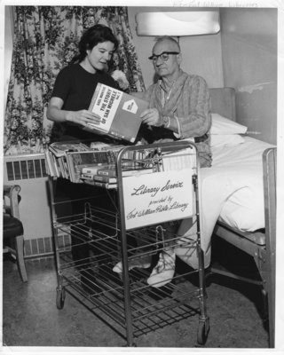 Library Hospital Book Cart Service (~1969)