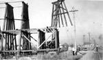 Port Arthur Ore trestle - vertical bents
