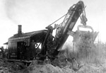 Steam Shovel - Trans Continental Railway