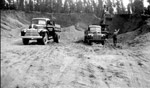 Hauling Gravel For The Road To Red Lake (1946)