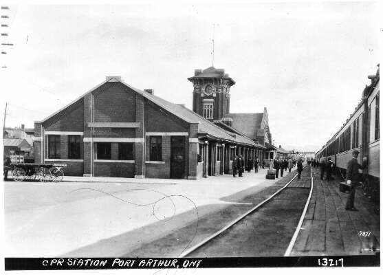 C.P.R. Station - Port Arthur (1925): The Gateway to ...