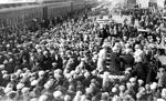Port Arthur's Allan Cup Winners (1929) OR  Great War soldiers departing