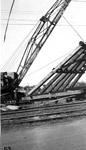 Port Arthur Ore Dock - raising bents (Oct 26th 1944)
