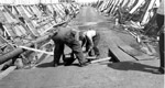 Port Arthur Ore Dock - Men Working On Ore Dock (Sept 1944)
