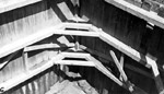 Port Arthur Ore Trestle - Sheathing & shoring used in bent 2