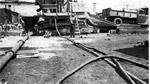 Port Arthur Ore Dock - The 'Rex' Paver & Pumpcrete Machine