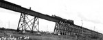 Train on the ore dock trestle (July 17 1945)