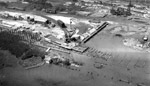 Aerial View of the Port Arthur Ore Dock Construction (1944)
