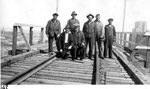 CNR Workers - iron ore trestle