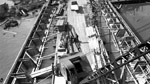 Aerial View of Ore Dock Construction (Oct 1 1944)