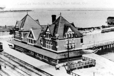 Canadian Northern Railway Depot - Port Arthur