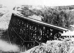Wooden Train Trestle