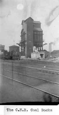 C.N.R. Coal Docks - Rainy River