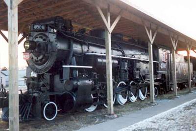 Steam Locomotive '4008' - Rainy River Heritage Museum
