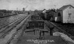 C.N.R Yards Looking East, Rainy River (1935)