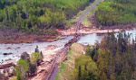 Damage after Washout - Seine River