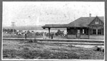 Loon Lake Railroad Station (~1900)