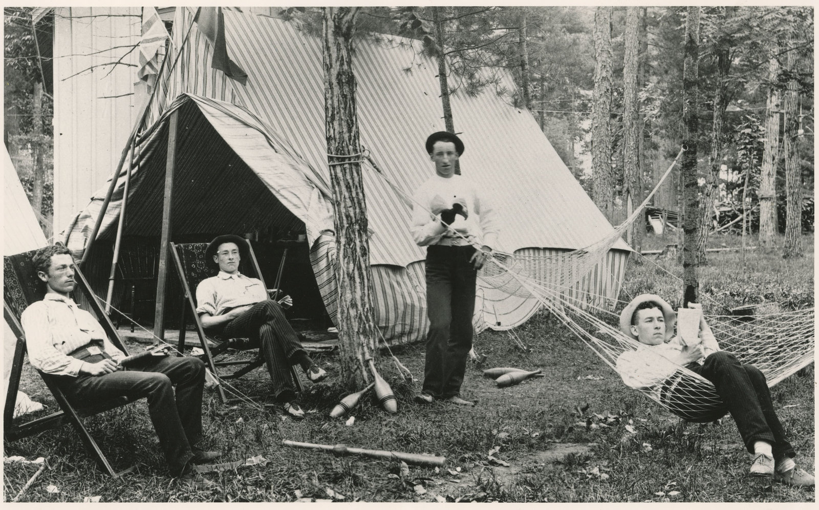 Camping at Grimsby Park