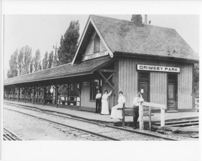 Grimsby Beach Railroad Station