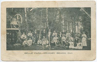 Belle Park, postcard