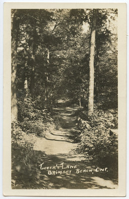 Lover's Lane, Grimsby, Ont.