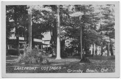 Lakefront Cottages, Grimsby Beach, Ont.