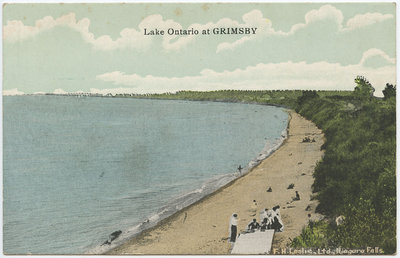 Lake Ontario at Grimsby