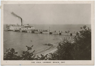 The Pier, Grimsby Beach, Ont.