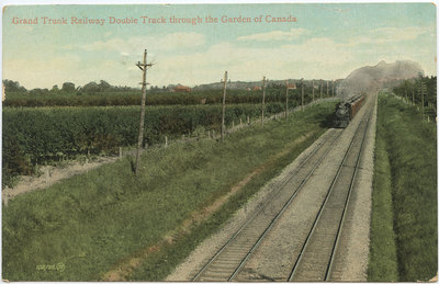 Grand Trunk Railway Double Track through the Garden of Canada