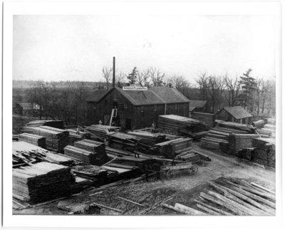 Daniel Marsh's Planing Mill, circa 1895