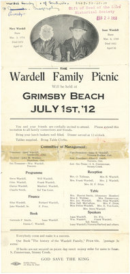 Wardell Family Picnic