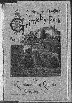 1886 Grimsby Park Programme